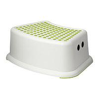 Табурет детский ФЁРСИКТИГ белый/зеленый ИКЕА, IKEA, фото 1