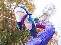 Плюшевая Акула Блохэй 140 см, фото 4