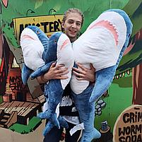 Плюшевая Акула Блохэй 140 см, фото 3
