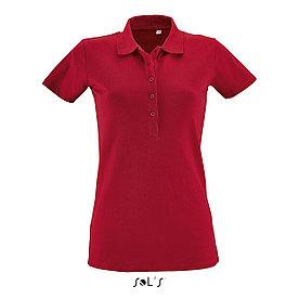 Женская рубашка поло Phoenix, красная
