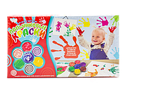 Danko Toys Набор для творчества Моё первое творчество Пальчиковые краски 4 цветов