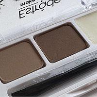 """Набор для макияжа бровей """"BROWISSIMO"""" Темно-коричневый"""