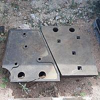 Клин верхний левый СМД-110