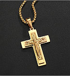 """Кулон-крестик  """"Крест Cross"""", фото 2"""