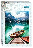 """Step Puzzle: пазл 560 деталей """"Италия. Озеро Брайес"""""""