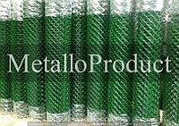 Сетка рабица пластифицированная (ПВХ) 2,5мм 30х30