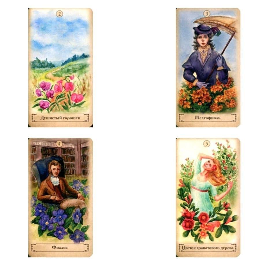 Оракул Цветов Мадам Ленорман Книга + 38 карт На складе