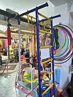 Распродажа! Детский спортивный комплекс с кольцами и канатом. Россия