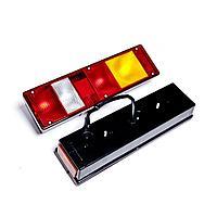 Задний правый фонарь МАЗ с проводом и боковым габаритом - отражателем