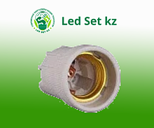 Патрон Е27 керамический подвесной ASD