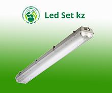 Светильник влагозащищенный ЛСП-456 2х18Вт Т8/G13 IP65