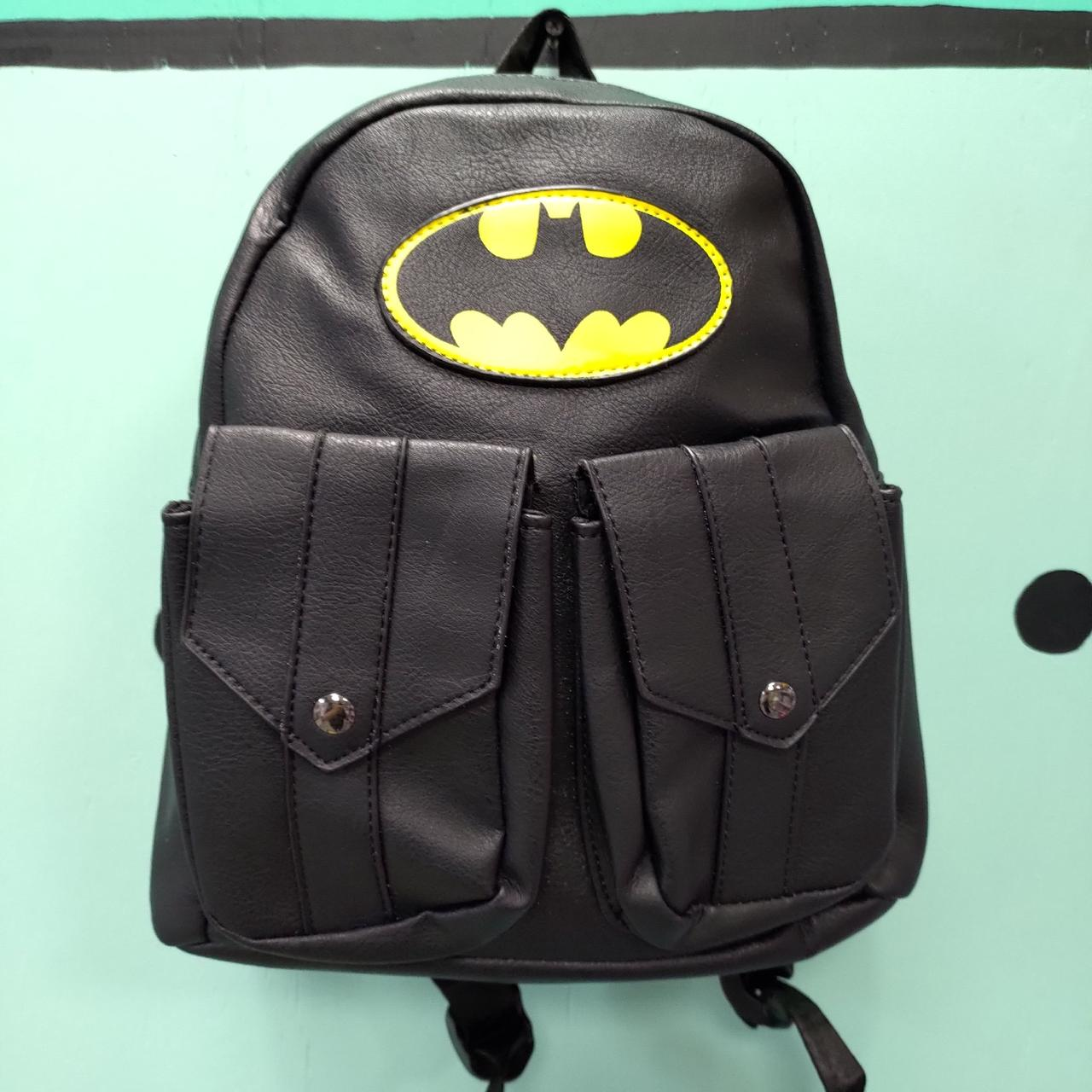 Кожзамовый рюкзак Batman
