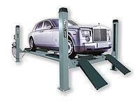 Подъемник четырехстоечный г/п 6500 кг. платформы для сход-развала KraftWell