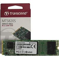Твердотельный накопитель SSD Transcend MTS820S TS120GMTS820S, 120GB/ M.2 2280 SATA/ TLC