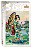 "Step Puzzle: пазл 560 деталей ""Японка"""