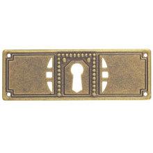 Ключевина *Jugendstil*, 97х33мм, латунь пат.