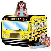 """Палатка игровая """"школьный автобус"""" размер 72Х72Х112см, фото 1"""