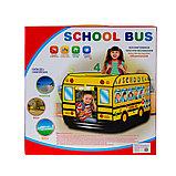 """Палатка игровая """"школьный автобус"""" размер 72Х72Х112см, фото 2"""