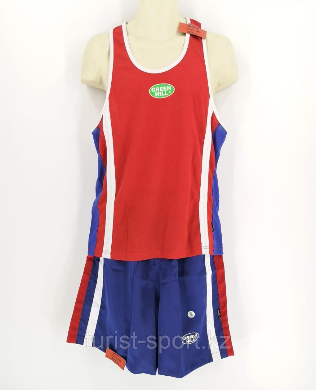 Форма боксерская для мальчиков красная Green Hill