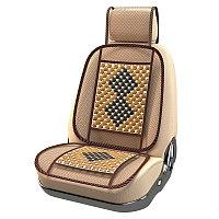 Массажная деревянная накидка для автомобильного кресла