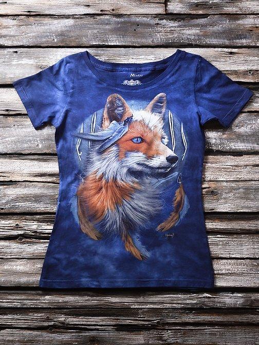 """""""Ловец снов"""" Женская футболка варенка с 3D принтом"""