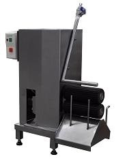 Машина для обработки кишок, с бойлером