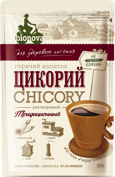 Напиток растворимый из цикория традиционный