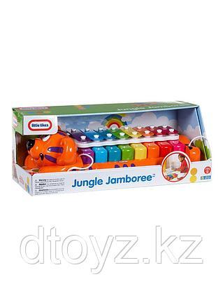 Little Tikes Музыкальная игрушка ксилофон Веселый тигр