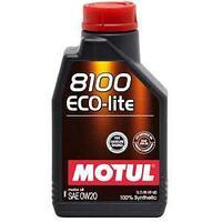 Моторное масло, MOTUL 8100 Eco-lite, 0W-20, 1литр