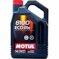 Моторное масло, MOTUL 8100 Eco-lite, 0W-20, 4 литр.