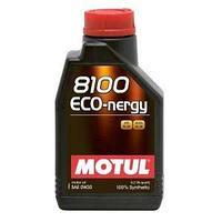 Моторное масло, MOTUL 8100 Eco-nergy, 0W-30, 1 литр.