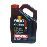 Моторное масло, MOTUL 8100 X-cess, 5W-40, 4 литр.