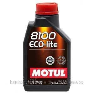 Моторное масло, MOTUL 8100 Eco-lite, 5W-30, 1 литр.