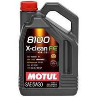 Моторное масло, MOTUL 8100 X-clean FE, 5W-30, 5 литр.