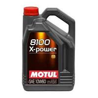 Моторное масло, MOTUL 8100 X-Power , 10W-60, 5 литр.