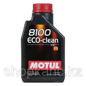 Моторное масло, MOTUL 8100 Eco-clean, 0W-30, 1 литр.