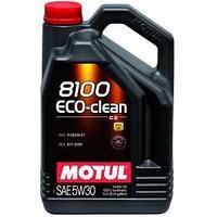 Моторное масло, MOTUL 8100 Eco-clean, 5W-30, 5 литр.