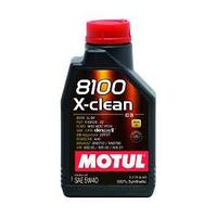 Моторное масло, MOTUL 8100 X-clean, 5W-40, 1 литр.