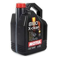 Моторное масло, MOTUL 8100 X-clean, 5W-40, 5 литр.