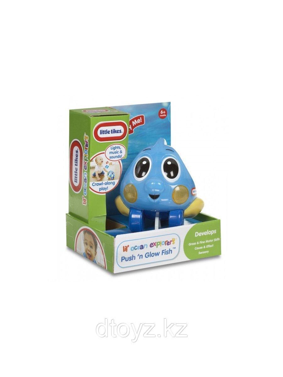 Игрушка-каталка Little Tikes Исследователь океана голубой