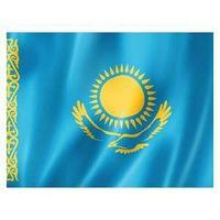 Флаг Республики Казахстан 0,75 х 1,5 м