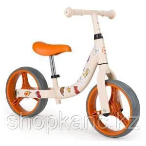 """Беговел """"WOGO"""" (beige), Диаметр колёс: 26,7 см, высота сиденья: от 30 до 43 см"""