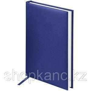 Ежедневник недатированный А5 160 л, Ariane, балакрон, синий.
