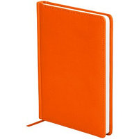 "Ежедневник недатир. A5, 136л., кожзам, OfficeSpace ""Winner"", оранжевый"