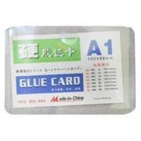 Бейдж горизонтальный 66*99 мм, без держателя(glue card).