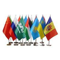 Настольный флажок всех стран 15 х 25 см., цена указана без флагштока
