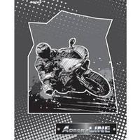 Тетрадь A5 80 листов в клетку Proff AdrenaLINE офсет/твердая (7БЦ) глянцевая ламинированная обложка.