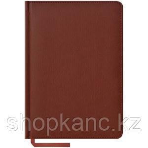 Ежедневник недатированный А5 160 л, Vivella, коричневый.