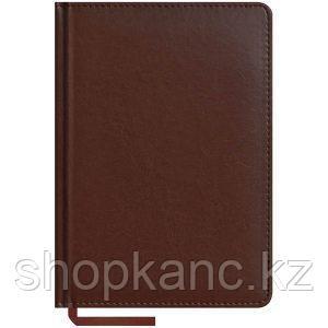 Ежедневник недатированный А5 160 л, Caprice, коричневый.