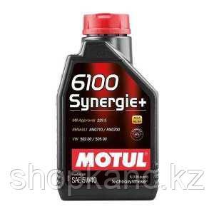 Моторное масло, MOTUL 6100 Synergie +, 5W-40, 1 литр.